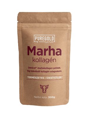 Pure Gold marha kollagén peptid 300g