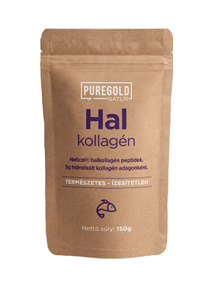 Pure Gold halkollagén peptid 150g