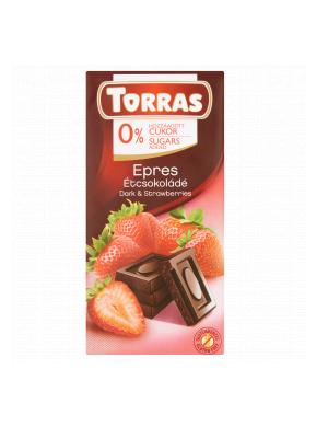 Torras  Epres Étcsokoládé hozzáadott cukor nélkül 75g