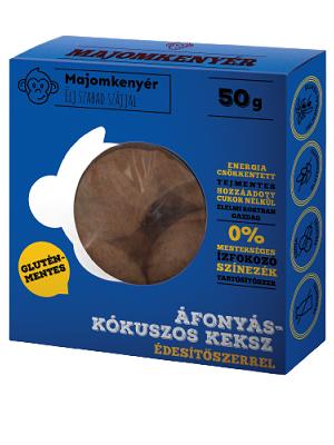 Majomkenyer-afonya-kokusz-50g