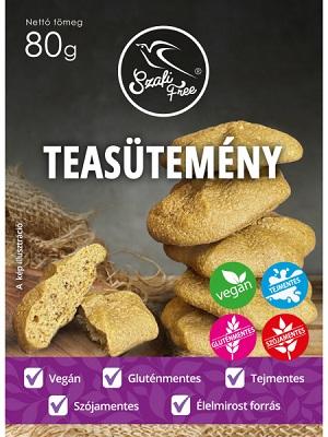 Szafi Free teasütemémy gluténmentes 80g