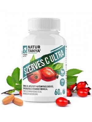 Natur Tanya SZERVES C ULTRA 1500 mg Retard C-vitamin, csipkebogyó kivonattal