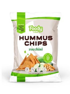 FOODY FREE Hummus chips cukkinivel (50 g)