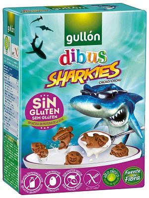Gullon Dibus Gluténmentes reggeliző keksz 250g